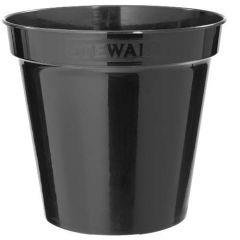 "Stewarts Plastic Flower Pot 10"" - Black"