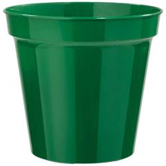 "Stewarts Plastic Flower Pot 10"" - Green"