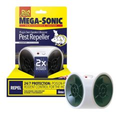 The Big Cheese Ultra Power Mega-Sonic® Plug-In Twin-Speaker Ultrasonic Pest Repeller