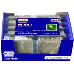 Gardman Suet Feast 10 Pack