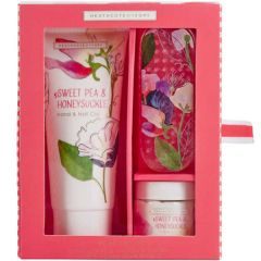 Heathcote & Ivory Sweet Pea and Honeysuckle Manicure Set