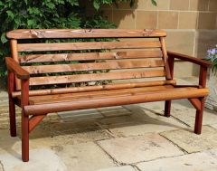 Woodshaw Thornton Rustic Bench 5ft