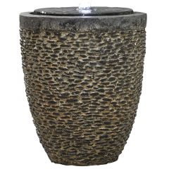 Kelkay Tumbled Stone Water Feature Including LEDs