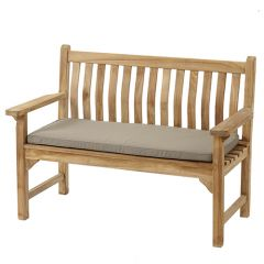 Bramblecrest 2 Seat Bench Cushion - Taupe