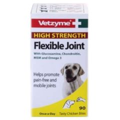 Vetzyme High Strength Flexible Joint Tablets 90 Pack