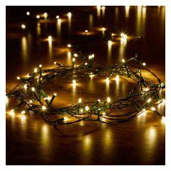 100 Warm White LEDs String Lights - Smart Garden