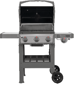 Weber Spirit II E-320 GBS Gas Barbecue - Black