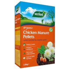Westland Organic Chicken Manure 2.25kg + 25%  Extra Free