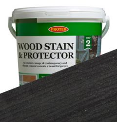 Protek Wood Stain and Protector - Ebony - 2.5L