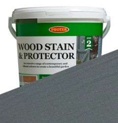 Protek Wood Stain and Protector - Gun Metal Grey - 2.5L