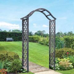Woodland Arch - Slate 2.21m - Smart Garden