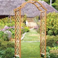Woodland Arch - Tan 2.21m - Smart Garden