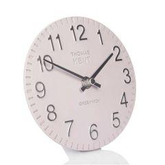 "Thomas Kent Cotswold Mantel Clock Orchid 6"""