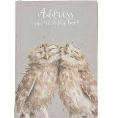 Wrendale Address Birthday Book Owls