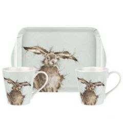 Wrendale Hare Mug & Tray Set