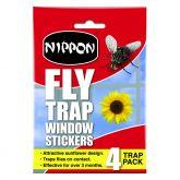 Nippon Fly Trap Window Stickers