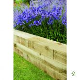 Forest Timber Landscaping Sleeper 120 x 20 x 10cm