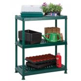 Self Assembly Greenhouse with Ventilated Shelving - Worth Gardening