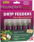 Houseplant Focus Drip Feeders - 38ml - 6 Pack