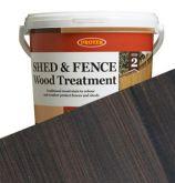 Protek Shed & Fence Stain - Nut Brown - 5L