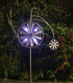 Penny Farthing Illuminated Wind Spinner