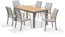 LifestyleGarden Salomon 6 Seat Rectangular Set