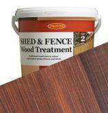 Protek Shed & Fence Stain - Rosewood - 5L