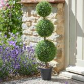 Trio Topiary Tree - 80cm