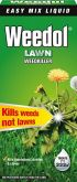 Weedol Lawn Weedkiller - 500ml