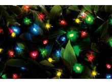 200 LED Dual Power String Lights - Multicoloured - Cole & Bright