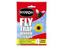 Nippon Fly Trap Window Stickers