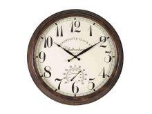 Cheltenham Wall Clock & Thermometer