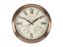 Mollington Wall Clock & Thermometer 15""