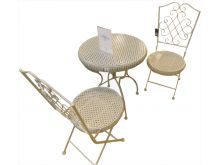 Premier Carcassone Grey Bistro Set