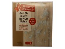 Bunch Micro Lights 60 Cool White LED's - 80CM