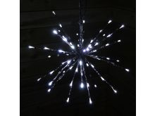 72 Cool White LED Polestar Lights - 45CM