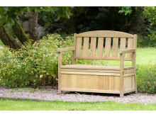 Zest4Leisure Caroline Bench With Storage Box