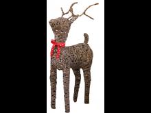 Rattan Weave Reindeer - Dasher - 99CM