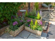 Forest Durham Rectangular Planter Set