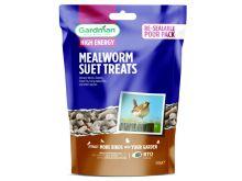 Gardman Mealworm Suet Treats - 550g