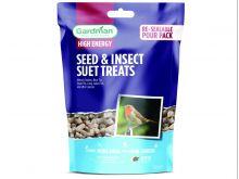 Gardman Seed & Insect Suet Treats - 550g