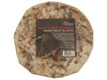 Giant Suet Doughnut - Mixed Fruit & Nuts - Tom Chambers