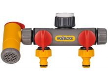 Hozelock Flow Max - 3-Way Tap Connector