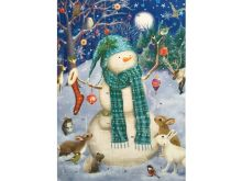 Glitter Advent Calendar - Jolly Snowman