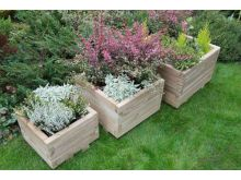 Forest Kendal Square Planter Set