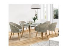 Kettler Geneva 6 Seater Dining Set