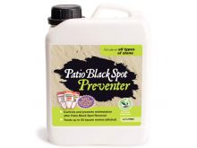 Patio Black Spot Preventer - For Use On All Types Of Stone - 2.5L