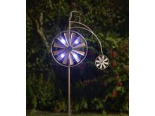 Penny Farthing Illuminated Wind Spinner