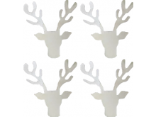 Reindeer Napkin Rings - Set of 4