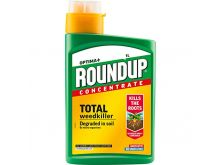 Round Up Concentrate - Total Weedkiller - 1000ml